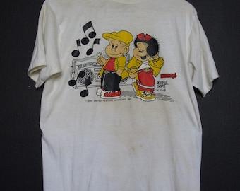 Nancy & Sluggo Comics 1986 vintage Tshirt