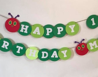 hungry caterpillar inspired banner
