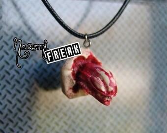 Necklace Alien Evolution-Xenomorph-Ovomorfo-Chestburster-Facehugger Necklace