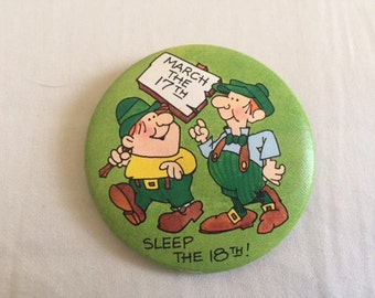 Vintage Saint Patrick's Day Pin