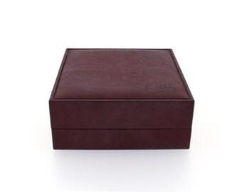 Earring box, ring box, vintage ring box, vintage earring box, jewellery box, vintage earring box, Kitty jewellery box