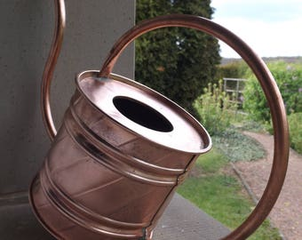 Watering can is hand made in France vintage brass / Deco copper vintage / vintage garden