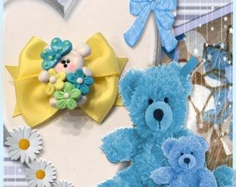 Daisy Teddy Bear Bow