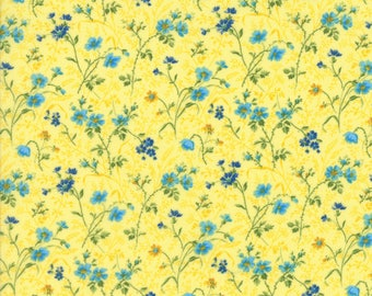Moda Summer Breeze IV Quilt Fabric 1/2 Yard By Sentimental Studios Yellow 33284 12