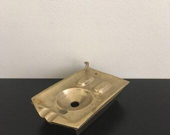 Turkish Toilet Ashtray /Brass Ashtray Stand