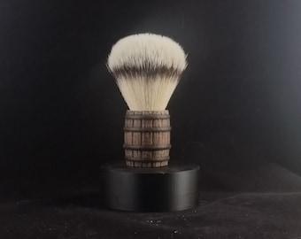3D printed Whiskey Barrel Shave Brush
