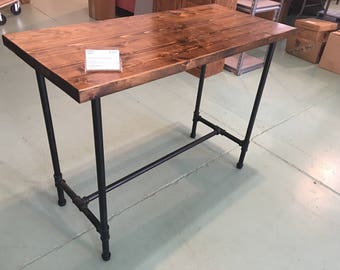 Available Now--Industrial Console Table