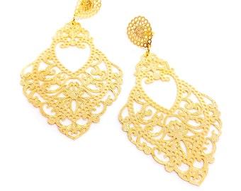 French Drop Earrings