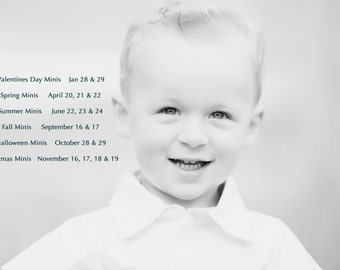 2017 PbK Mini Session {all 6 at a huge discount!}