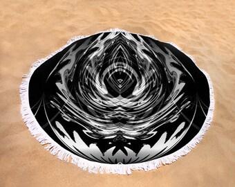 Round Beach/Picnic Towels - Orbital