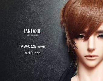 TANTASIE / BJD Wig Taw-01(Brown) for 9-10inch (1/3、SD)【Exclusive Product】