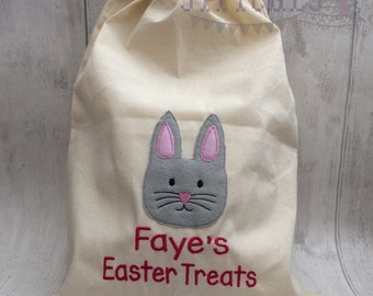 Easter Bunny Cotton Treat Bags