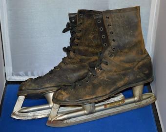 Vintage Ice Skates, Marathon