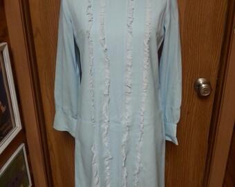 Vintage dress, vintage blue dress, vintage baby blue dress, vintage by siro dress, vintage 1960's dress, 1960's blue dress A6