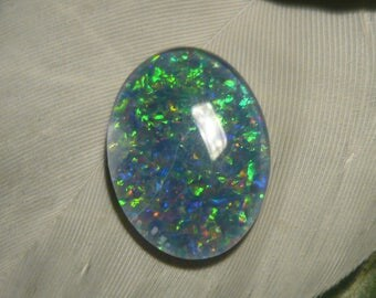 Reclaimed Vintage Opal Triplet, 3.1ct (Slightly Damaged)