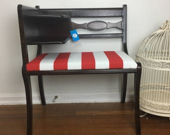 Phone Bench, Gossip Bench, Entry Seat, Desk ***Does NOT Include Shipping***