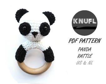 Haakpatroon Panda Rammelaar