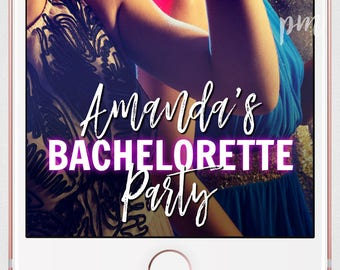 Bachelorette Party Snapchat Geofilter, Bachelorette Filter, Party Geofilter, Bachelorette Party, Wedding Filter, Custom Snapchat Filter