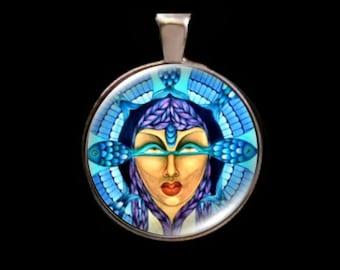 Yemaya Goddess, Goddess of the Ocean, African-Brazilian Goddess .