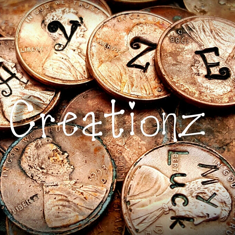 Personalized Stamped Gifts & Lucky Penny By DayzeeCreationz
