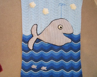 Jonah and the Whale blanket