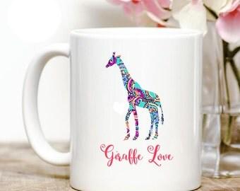 Giraffe Love Coffee Mug