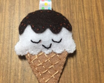 Felt Ice Cream Cone