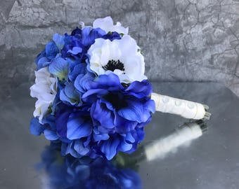 Wedding bouquet, bridal bouquet, wedding flowers, bride's bouquet, silk bouquet, artificial flowers, artificial bouquet