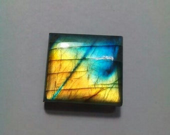 Labradorite Rectangle Shape Cabochon