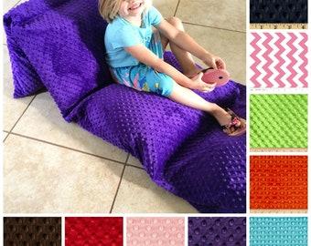 Pillow Bed for kids,pillow bed,Kid's pillow bed,Minky Pillow Bed,Toddler Pillow bed,kid's nap mat,kids floor pillow,Kids lounger,kids gift