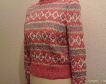 Ladies Fair Isle Sweater