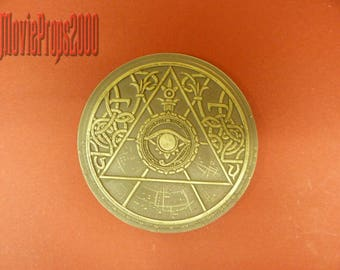 Tomb Raider Light Disc Medallion Lara Croft Movie Prop Replica