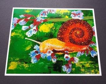 Snail Print