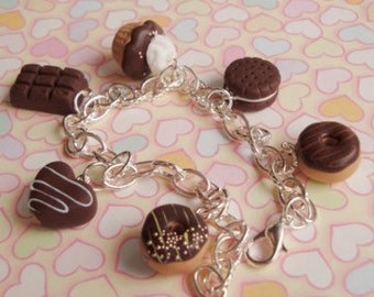 Chocolate scented bracelet