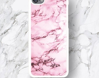 iPod Touch 6th Gen Pink Marble Cases, iPod Touch 6G Cover, Designer Print iPod 6 Cases, Marble Stone Texture Pattern iTouch 5th,gift for her