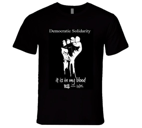 Democratic Solidarity T-Shirt (Black Only)