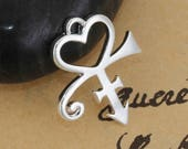 Prince Heart Tribute Charm - Clip-On - Ready to Wear