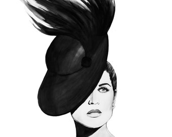 Feathered Hat