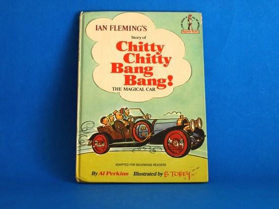 Chitty Chitty Bang Bang The Magical Car Book 1969 Dr Seuss