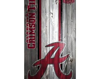 CUSTOM VINYL Cornhole Boards DECALS Alabama Crimson Tide Bag Toss Game Stickers