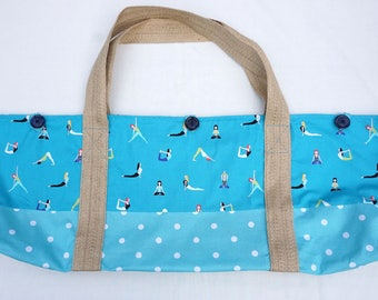 YOGA BAG - Namaste pattern