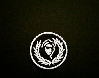 Rudeboy Crest SKA Patch. Embroidered . Ska clothing. 2 tone clothing