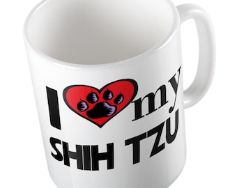I love my Shih tzu - mug