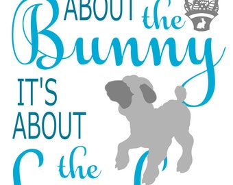 It's not about the Bunny, It's about the Lamb - svg file