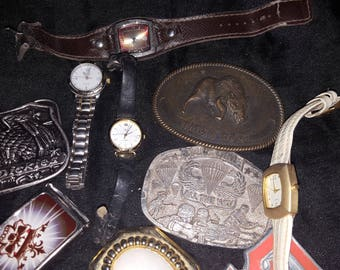 Watches and Buckles vintage
