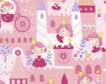 Pink Princess Fabric by Timeless Treasures