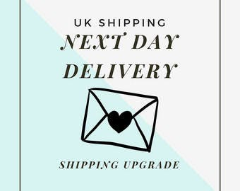 Next day delivery ( UK ONLY)