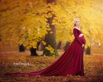 Maternity dress / maternity gown/maternity photography / photo shoot/maternity session/maternity photo props/ jersey dress