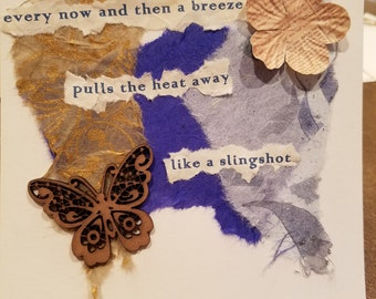 Poetry Art Card #3