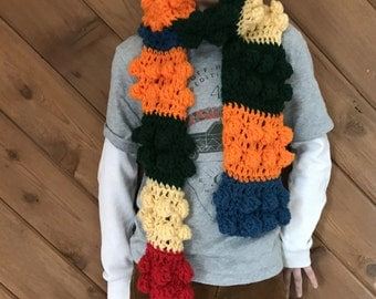 Lego yarn scarf! you pick the colors :)